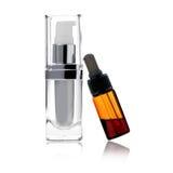 Botella cosmética Fotos de archivo