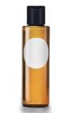 Botella cosmética blanca foto de archivo libre de regalías