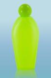 Botella cosmética con el camino de recortes Imagen de archivo libre de regalías