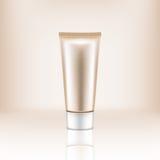 Botella cosmética de crema