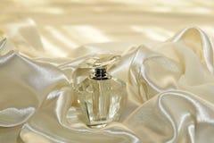Botella cristalina Imagen de archivo