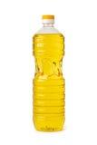 Botella de aceite de cocina Fotografía de archivo