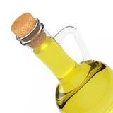 Botella de aceite de oliva representación 3d Fotografía de archivo libre de regalías