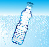Botella de agua libre illustration