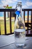 Botella de agua Imágenes de archivo libres de regalías