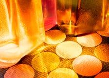 Botella de agua colorida fotografía de archivo libre de regalías