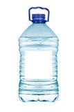Botella de agua mineral Imagen de archivo libre de regalías