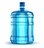 botella de agua plástica de la bebida de 19 litros o de 5 galones Imagenes de archivo