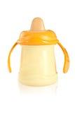 Botella de bebé Fotos de archivo libres de regalías