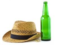 Botella de cerveza Fotografía de archivo