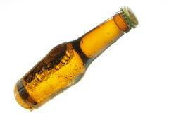 Botella de cerveza Foto de archivo