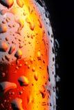 Botella de cerveza Fotos de archivo libres de regalías