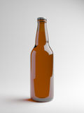 Botella de cerveza de Brown Ilustración del Vector
