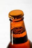 Botella de cerveza de Brown Imágenes de archivo libres de regalías