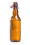 Botella de cerveza del alcohol aislada Imagen de archivo libre de regalías