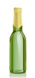 Botella de cerveza del vidrio verde ilustración del vector