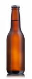 botella de cerveza marrón No-brillante Fotos de archivo libres de regalías