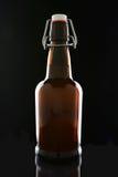 Botella de cerveza superior del oscilación Foto de archivo libre de regalías
