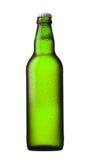 Botella de cerveza verde Imagen de archivo libre de regalías