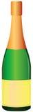 Botella de champán Imagen de archivo