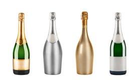 Botella de champán imágenes de archivo libres de regalías