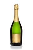 Botella de champán. Fotos de archivo