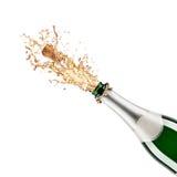 Botella de champán Fotos de archivo libres de regalías
