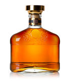 Botella de coñac Imagenes de archivo