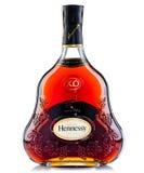 Botella de coñac Hennessy Imágenes de archivo libres de regalías