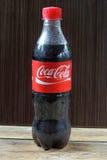 Botella de Coca-Cola Fotografía de archivo libre de regalías