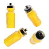 Botella de consumición del deporte aislada Imagen de archivo libre de regalías