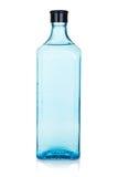 Botella de cristal de la ginebra Foto de archivo libre de regalías