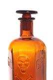 Botella del veneno de Brown Imágenes de archivo libres de regalías