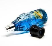Botella de fragancia imagen de archivo libre de regalías