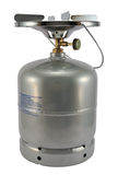 Botella de gas Fotografía de archivo