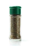 Botella de hierbas mezcladas Fotografía de archivo