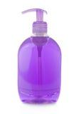 Botella de jabón líquido Imágenes de archivo libres de regalías