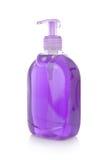 Botella de jabón líquido Fotos de archivo libres de regalías