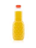 Botella de jugo Imagenes de archivo