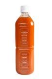 Botella de jugo orgánico Imágenes de archivo libres de regalías