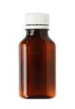 Botella de la droga Fotografía de archivo libre de regalías