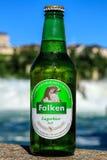 Botella de la féretro de Falken Fotografía de archivo