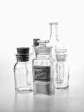 Botella de la farmacia de soda de Bicarb Fotos de archivo libres de regalías