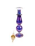 Botella de la inmersión del perfume de la vendimia Imágenes de archivo libres de regalías