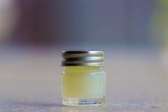 Botella de la medicina Fotografía de archivo libre de regalías