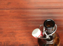 botella de la Mover de un tirón-tapa Fotografía de archivo libre de regalías