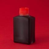 Botella de la salsa de soja Foto de archivo libre de regalías
