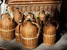Botella de la vid Foto de archivo libre de regalías