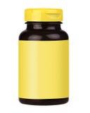 Botella de la vitamina Imágenes de archivo libres de regalías