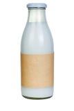 Botella de leche Fotografía de archivo